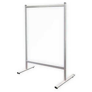 Stay Healthy Floor-Standing Heavy-Duty Partition Walls - 1200 x 1500mm