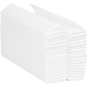 Purely Smile Hand Towel C Fold 2ply White Case of 2350