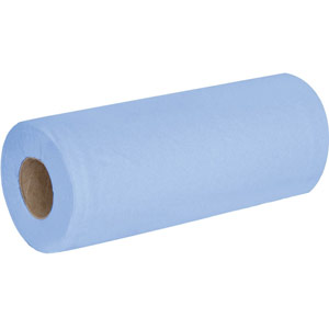 Purely Smile Couch Roll 25cm x 50m 2ply Blue Pack of 18