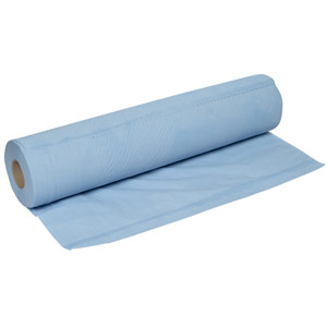 Purely Smile Couch Roll 50cm x 50m 2ply Blue Pack of 9