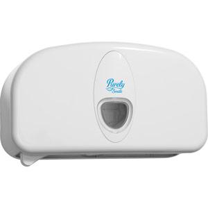 Purely Smile Micro Mini Toilet Roll Dispenser White
