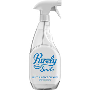 Purely Smile Antibacterial Multi Surface Cleaner - 750ml