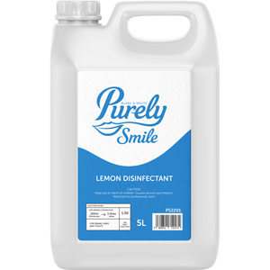 Purely Smile Lemon Disinfectant 5L