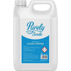 Purely Smile Rinse Free Floor Stripper - 5L