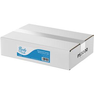 Purely Smile Standard Black Sacks Medium Duty Box of 200