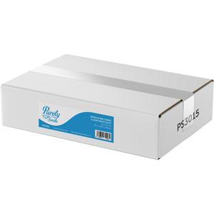 Purely Smile Wheelie Bin Liner Clear Heavy Duty Box of 100