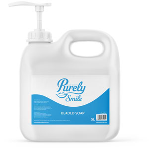 Purely Smile Beaded Soap 5L With Pump
