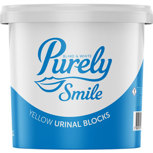 Purely Smile Urinal Blocks Yellow 3kg