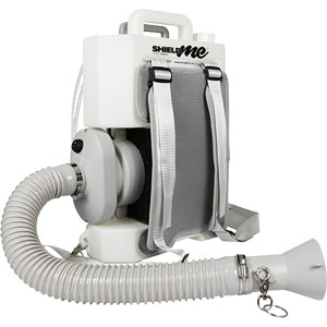 8 Litre Knapsack Cordless Disinfection Fogger - supplied with 4 x 5Ltr SHIELDme Sanitisers