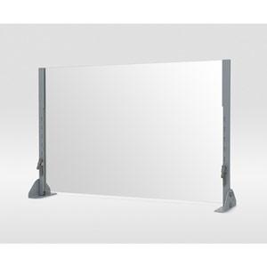 plexiglass adjustable safety shield