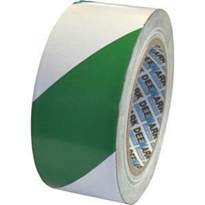 Green/White Hazard Tape - 50mm x 33m