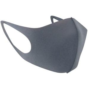 Reusable Polyurethane Face Mask Grey