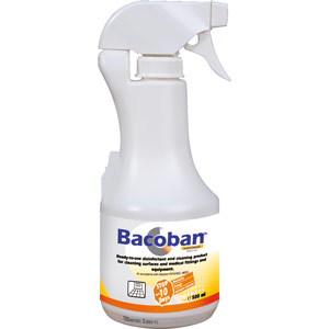 bacoban 500ml carton of 12 including 4x pump sprayers