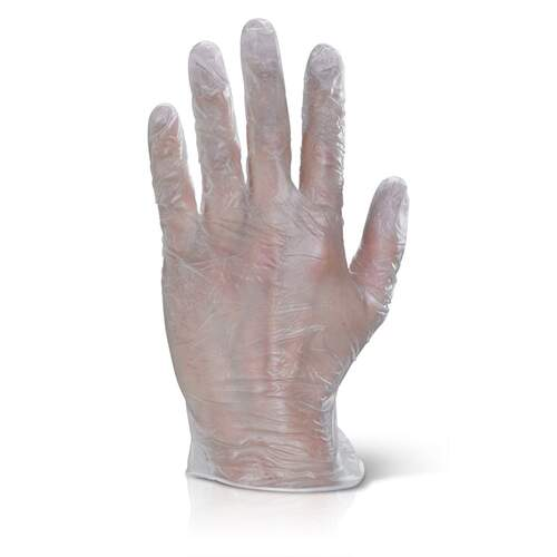 Vinyl Gloves Powder Free Clear - Extra Large