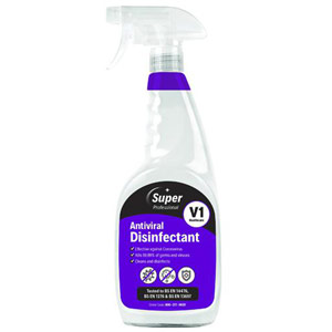 Antiviral Disinfectant Trigger Spray - 750ml (Pack of 6)