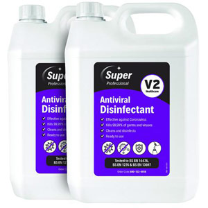Antiviral Disinfectant - 5 Litre (Pack of 2)