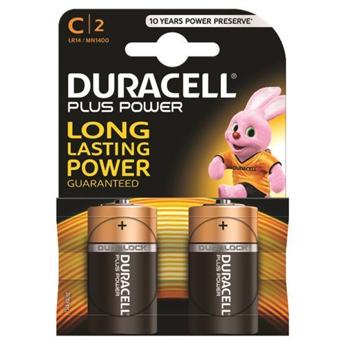 LR14 Batteries (Type C) - Pack of 2