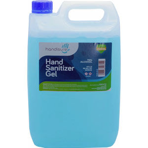 5 Litre Liquid Hand Sanitiser - 72% Alcohol Base