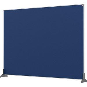 Nobo Impression Blue Pro Desk Divider Screen Felt Surface 1400x1000mm
