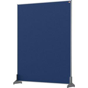 Nobo Impression Blue Pro Desk Divider Screen Felt Surface 800x1000mm