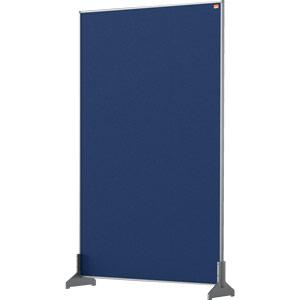 Nobo Impression Blue Pro Desk Divider Screen Felt Surface 600x1000mm