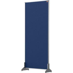 Nobo Impression Blue Pro Desk Divider Screen Felt Surface 400x1000mm