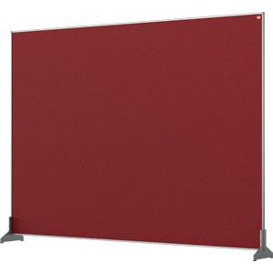Nobo Impression Red Pro Desk Divider Screen Felt Surface 1400x1000mm
