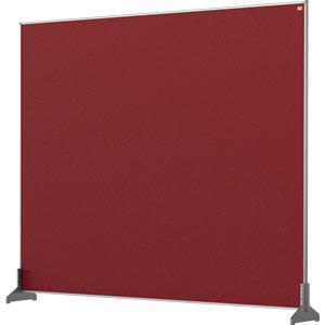 Nobo Impression Red Pro Desk Divider Screen Felt Surface 1200x1000mm