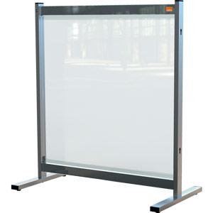 Nobo Premium Plus Clear PVC Protective Desk Divider Screen 770x860mm