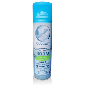 X-Mist Room Atmospheric Sanitiser + Deodoriser - 250ml