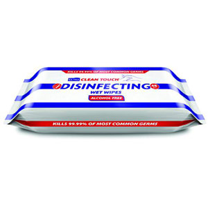 Ultraclene Touch Disinfect - 48 Wipes (Pack of 18)