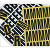 Yellow Letters - 39mm