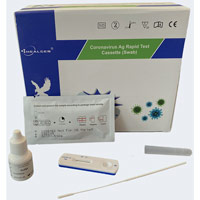 Healgen Government Approved Covid-19 Antigen (Swab) Rapid Lateral Flow Test Kit