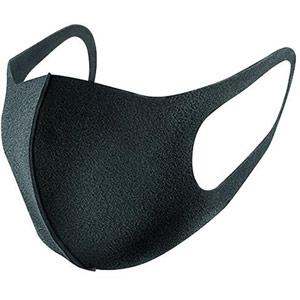 Reusable Polyurethane Face Mask Black
