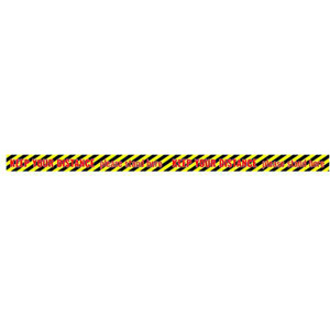 Social Distance Sticker Tape - 1300x60mm (Pack of 5)