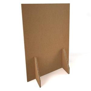 Honeycomb Cardboard Floor Standing Division Screen