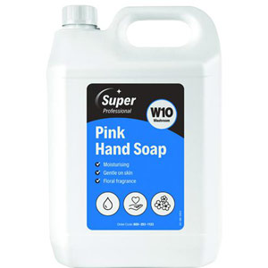 W10 Pink Hand Soap - 5L (Pack of 2)